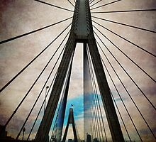 iPhoneography: ANZAC Bridge by Aakheperure