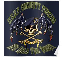 Security Forces Carpe Noctum Poster