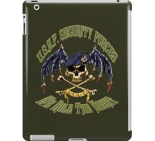 Security Forces Carpe Noctum iPad Case/Skin