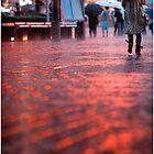 Thunderstorm over Shibuya by Marie Wintzer