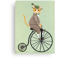 Dandy Penny Farthing Canvas Print