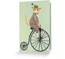 Dandy Penny Farthing Greeting Card