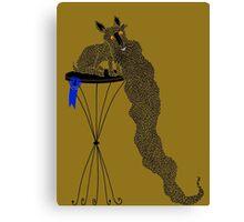 Best in Show Scottie Dog Long Beard Canvas Print
