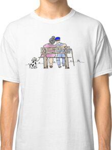 Elderly couple Classic T-Shirt