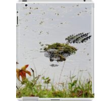"""Big Gator"" iPad Case/Skin"