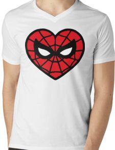 I <3 Spider-man v.2 Mens V-Neck T-Shirt