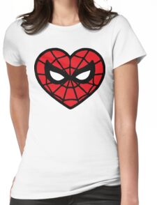 I <3 Spider-man v.2 Womens Fitted T-Shirt
