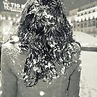 Johs hair full of snow. Madrid. by Milita