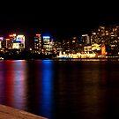 Sydney by night by Matt kelly.