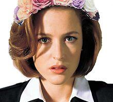Gillian Anderson Dana Scully Fox Mulder X Files by LordGloria