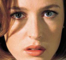 Gillian Anderson Dana Scully Fox Mulder X Files Sticker