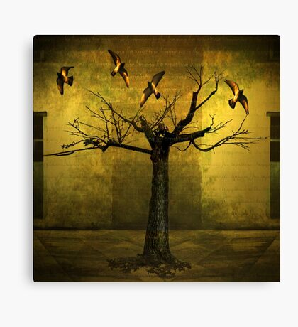 Happiness Is The Longing for Repetition Canvas Print
