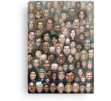 Faces of Humanity Metal Print