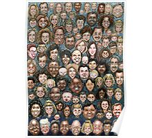 Faces of Humanity Poster
