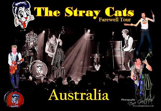 Stray Cats Tour  Australia