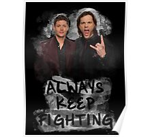 Always Keep Fighting Poster