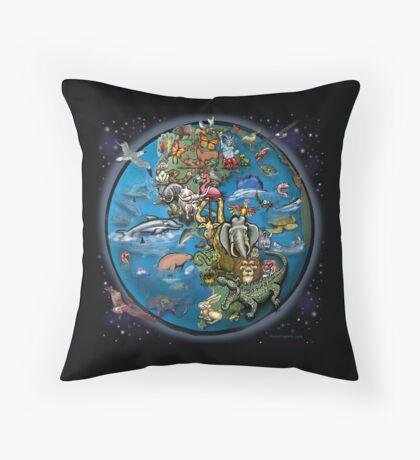 Animal Planet Throw Pillow