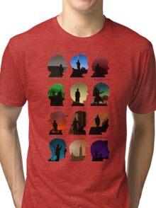 Who Said it (1-11) Tri-blend T-Shirt