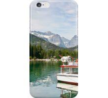 Waterton Lakes Boat Tour iPhone Case/Skin