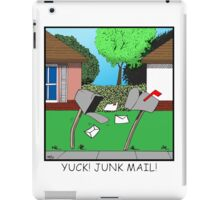 YUCK! JUNK MAIL! iPad Case/Skin