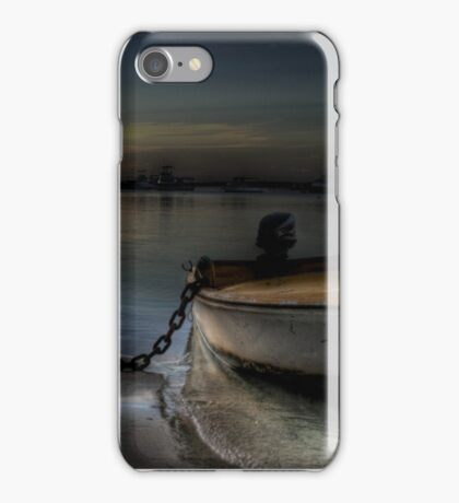 Big chain little boat iPhone Case/Skin