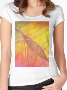 Fire Storm-Available As Art Prints-Mugs,Cases,Duvets,T Shirts,Stickers,etc Women's Fitted Scoop T-Shirt