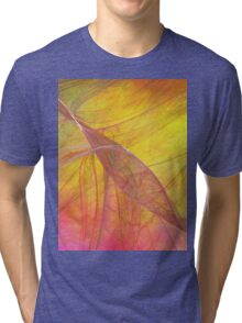 Fire Storm-Available As Art Prints-Mugs,Cases,Duvets,T Shirts,Stickers,etc Tri-blend T-Shirt