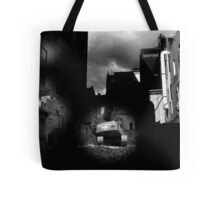 building destruction Tote Bag