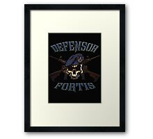 SF Defensor Fortis  Framed Print