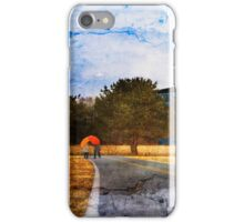 At the Edge of a Dream iPhone Case/Skin
