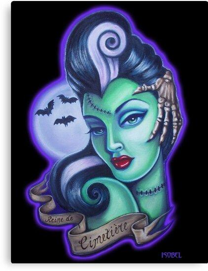 Graveyard Queen by Isobel Von Finklestein
