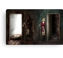 10 Years of Silent Hill 2 Canvas Print