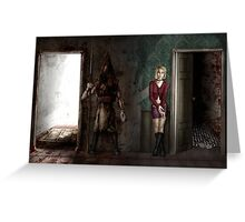 10 Years of Silent Hill 2 Greeting Card
