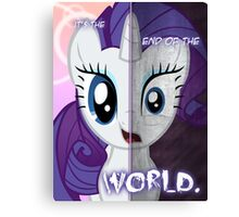 Two Sides - Rarity Canvas Print