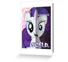 Two Sides - Rarity Greeting Card