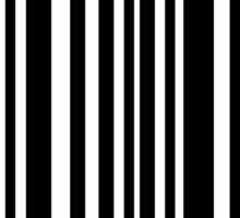 BTS/Bangtan Boys Barcode Style Sticker