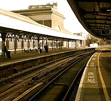 Margate train station by Richard Pitman