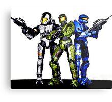 Halo toys Metal Print