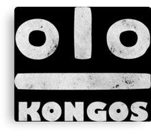 KONGOS Canvas Print