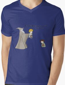 It's Dangerous to Go Alone. Take this. Mens V-Neck T-Shirt