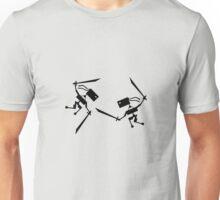 War of the Ninjutbots (Black Print) Unisex T-Shirt
