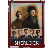 Sherlock Cast Portraits iPad Case/Skin