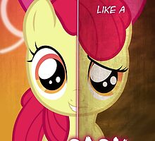 Two Sides - Apple Bloom by TehJadeh