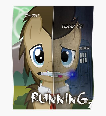 Two Sides - Doctor Whooves Poster