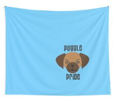 puggle pride blue Wall Tapestry