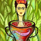 """FRIDA KAHLO """"Aqui Me Ahogo, Y Tu?"""" by Frances Perea"""