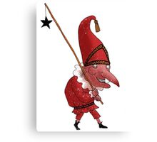 Mr. Punch and the Dark Star Canvas Print