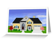 Home rendering Greeting Card