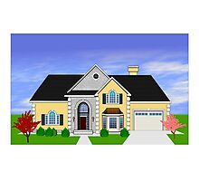 Home rendering Photographic Print