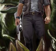 Chris Pratt - Dinosaur Trainer Sticker